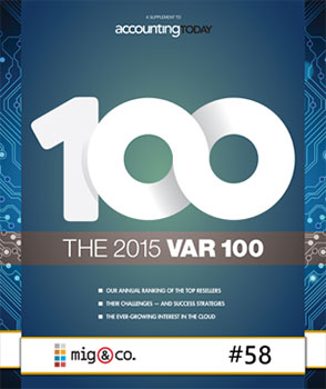 Accounting-Today-Top-100-VARs-2015 Awards