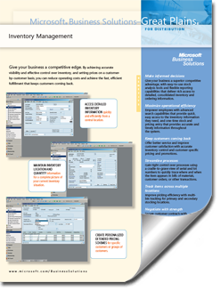 Dynamics-GP-Inventory-Management-Fact-Sheet-thumb Supply Chain Management Solutions