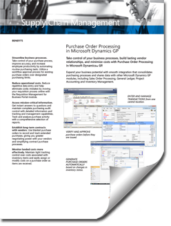 Dynamics-GP-Purchase-Order-Brochure-thumb Supply Chain Management Solutions