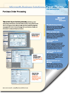 Dynamics-GP-Purchase-Order-Fact-Sheet-thumb Supply Chain Management Solutions
