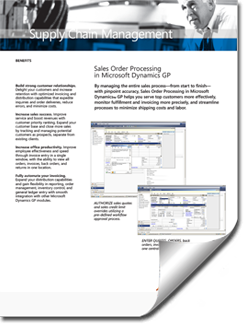 Dynamics-GP-Sales-Order-Brochure-thumb Supply Chain Management Solutions
