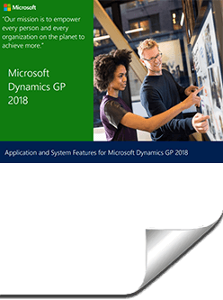 application-features-2018-gp What's New in Microsoft Dynamics GP 2018 and Dynamics GP 2018 R2