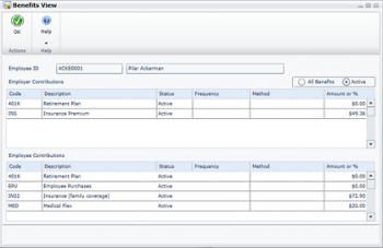 New Employee Self Service Features within Dynamics GP