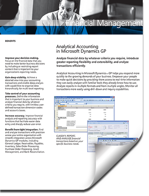 Microsoft Dynamics GP Great Plains Financial Accounting Easy And Simple