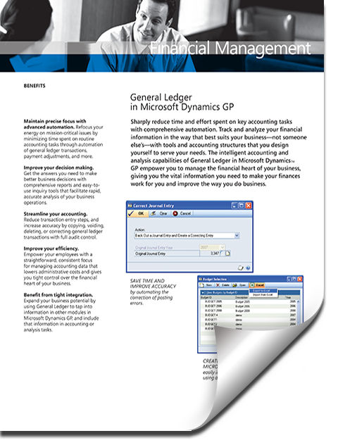 brochure-dynamics-gp-general-ledger Financial Management / Accounting