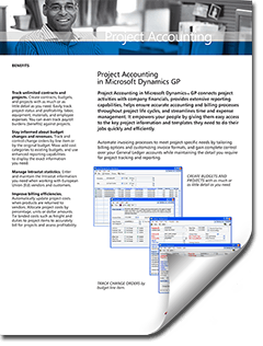 brochure-dynamics-gp-project-accounting Dynamics GP Project Accounting / Job Costing
