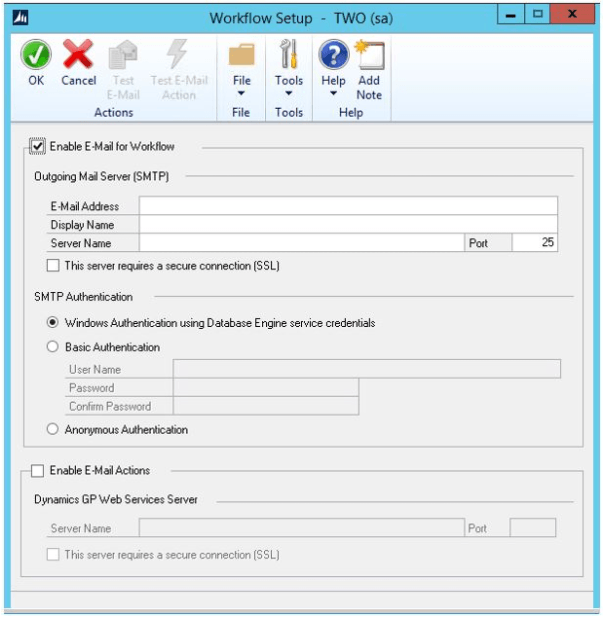 setup How You Can Set Up a Workflow in Microsoft Dynamics GP (Great Plains)